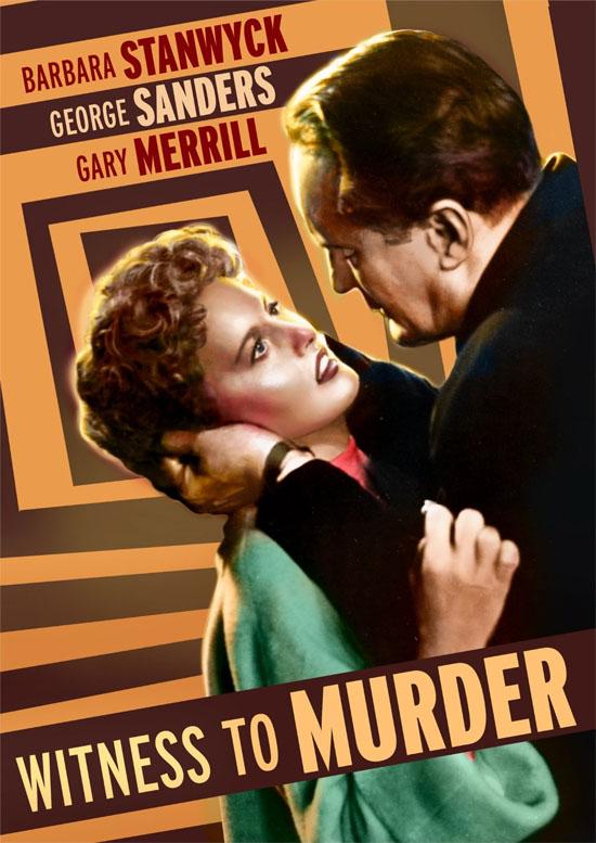 Witness To Murder 1954 Journeys In Classic Film