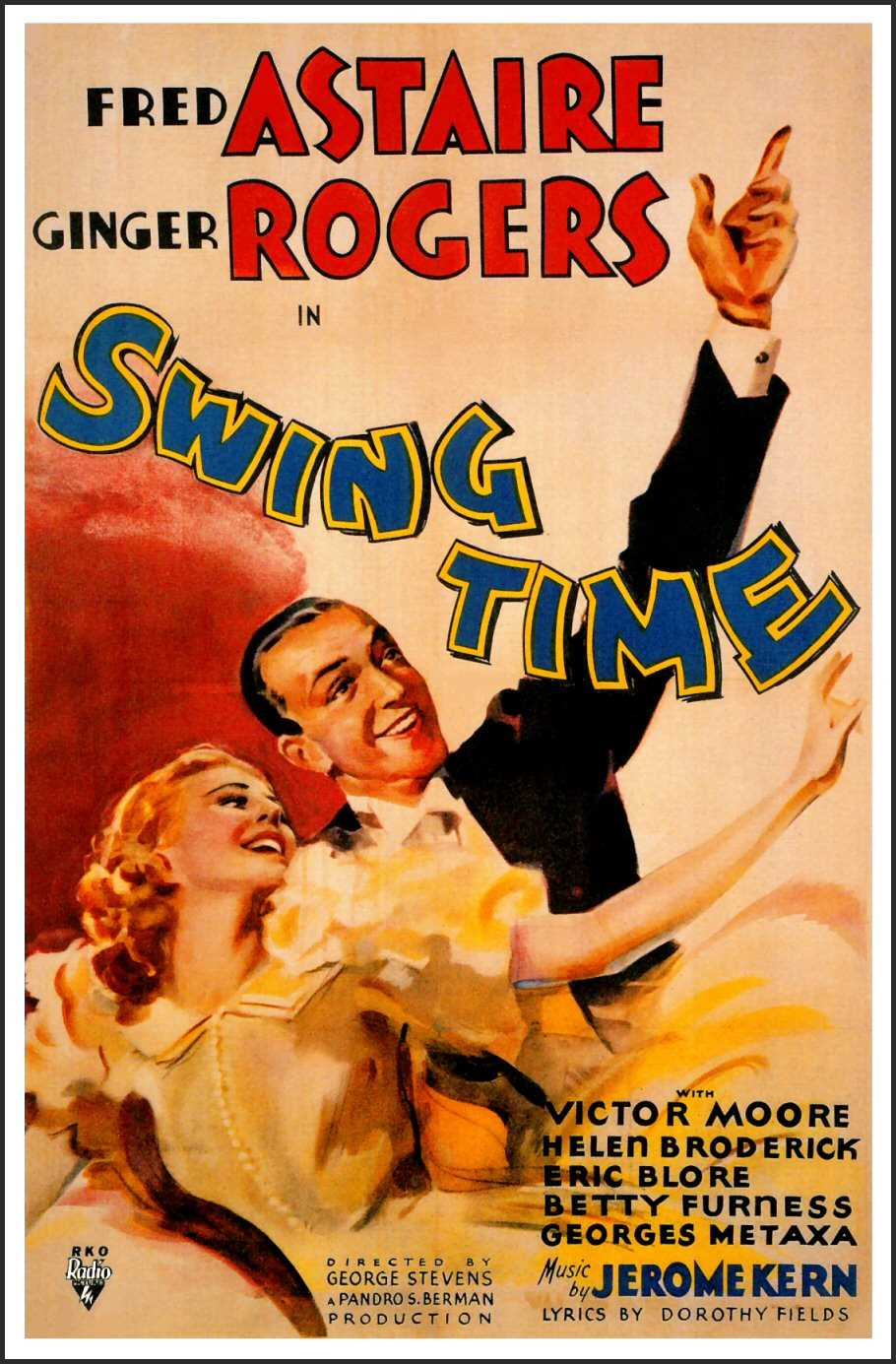 Swing Time (1936)  Journeys in Classic Film