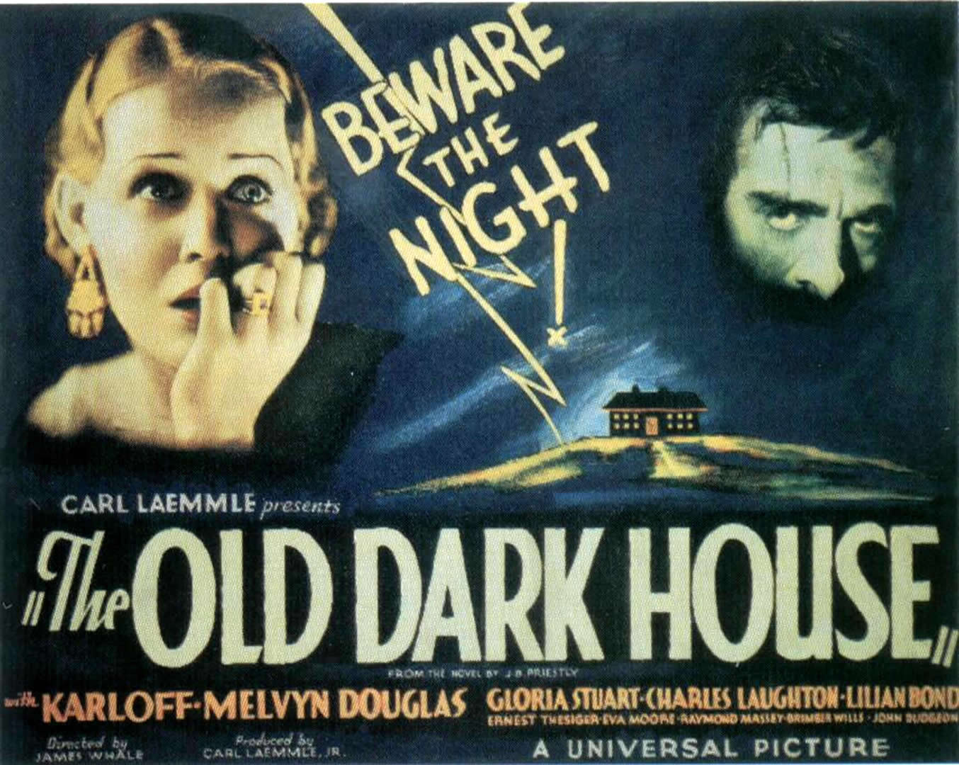 Image result for the old dark house film poster