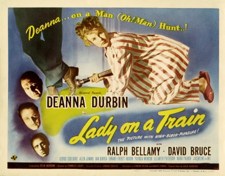 Image result for Lady on a Train 1945