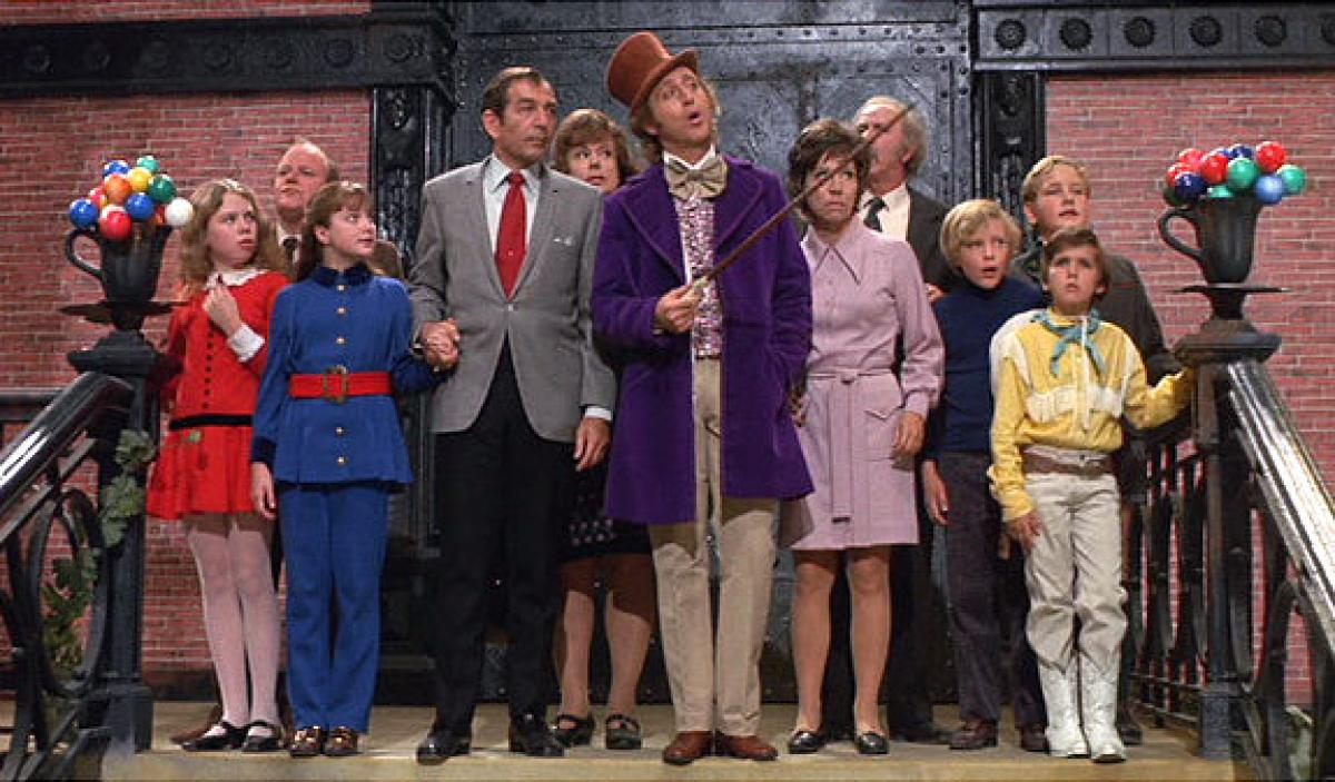 Willy Wonka and the Chocolate Factory (1971) – Ticklish Business