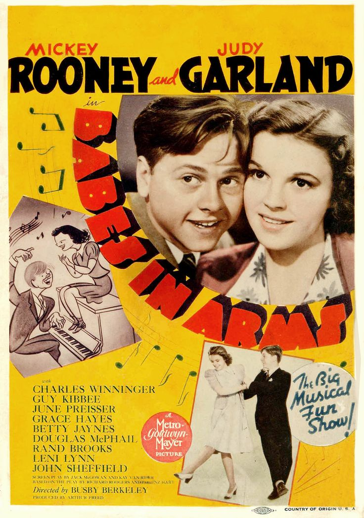 Babes In Arms 1939 Journeys In Classic Film