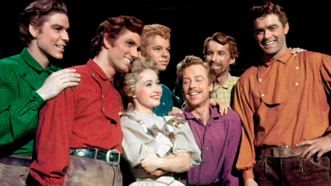 Image result for seven brides for seven brothers 1954